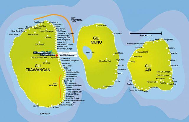 фото острова гили